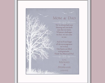 Thank You Gift For Mom On Wedding Day : ... Wedding Day Poem - Thank You Poem - Parents Of Groom Gift - Parents Of