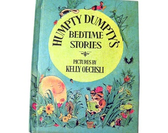 Humpty Dumptys Bedtime Stories First Edition Parents Magazine Press / Illustrated Book / Parents Press / Childrens Gift / Read Aloud Story