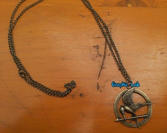 Necklace the Hunger Games, catching fire, the song of Revolt/Catching Fire, Mockingjay