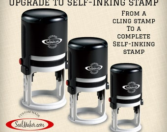 Upgrade from Plate Stamp to Self-Inking Stamp
