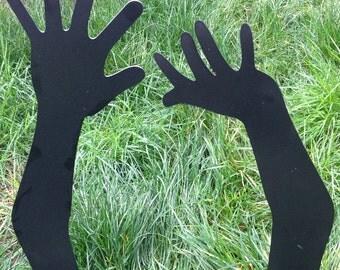 Metal Zombie Hands...