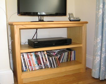 Media Unit, TV Stand, Handmade, Media Storage Cabinet,  Ash,  Media Storage Cabinet, Media Console Unit, TV and Media Storage Unit,