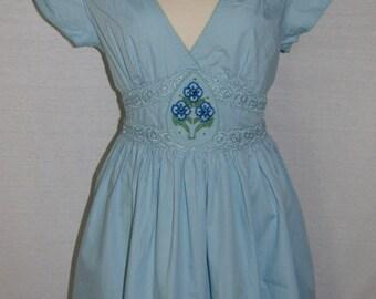 Disney inspired dress in Blue