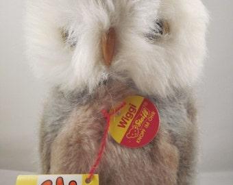 Steiff Wiggi Owl - 2625/15 - Vintage 1980's