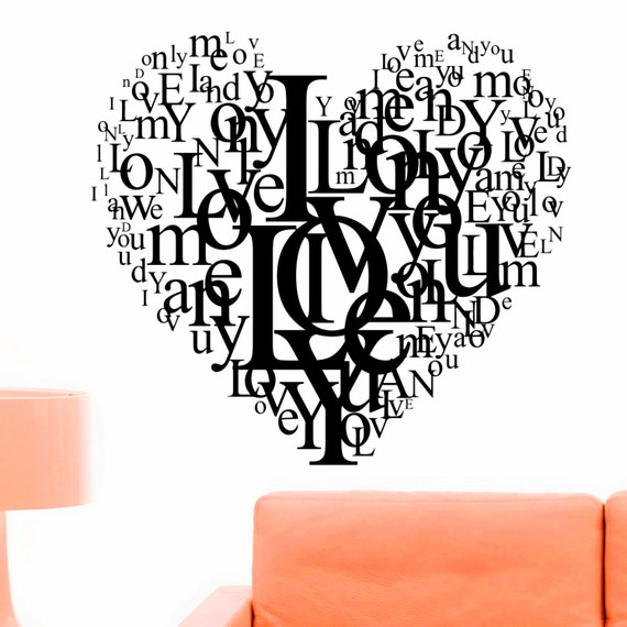 Heart Love Decals by WisdomDecals