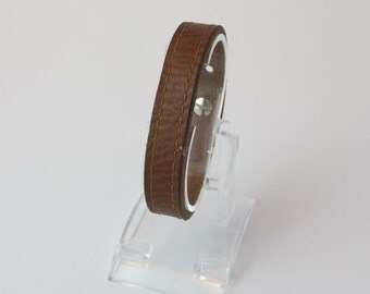 Simple Leather Wrist Cuff/Gifts for him/Gifts for her