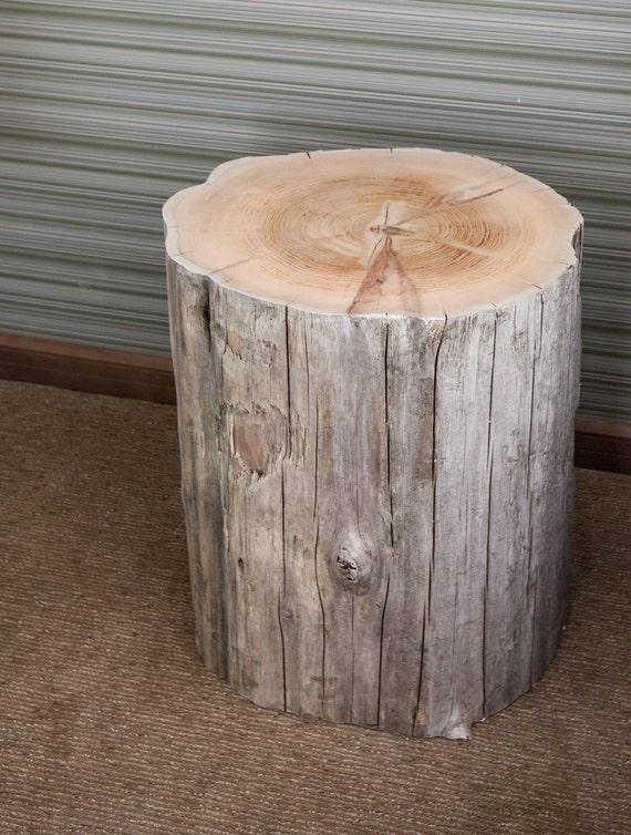 Salvaged Cedar Stump Driftwood Furniture DW001