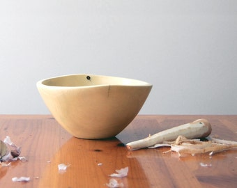 Wooden Bowl, handmade from Sycamore