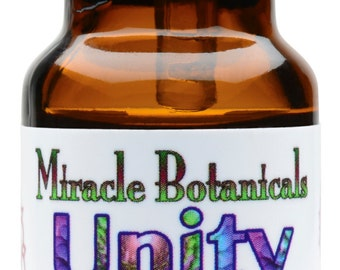 Miracle Botanicals Unity Annointing Oil - 10% Essential Oil Crown Chakra Synergy Blend in a Golden Argan Oil Base 10ml...Free US Shipping