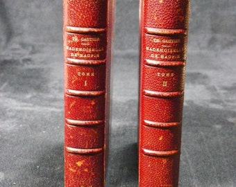 "Rare books ""Miss MAUPIN"" Volume I and II 