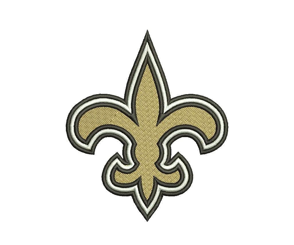 New Orleans Design: New Orleans Saints Embroidery Design New Orleans By
