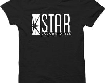 STAR Laboratories T-tshirt The Flash New TV Series S.T.A.R. Labs Fan Tee