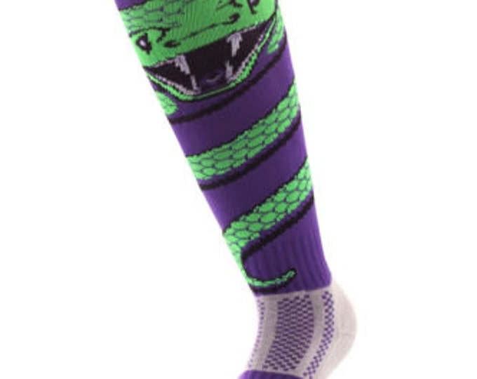 Samson® Snake Wrap Funky Socks Sport Knee High Sport Football Rugby Soccer