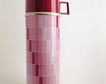Vintage Red THERMOS Brand 30 oz Thermos