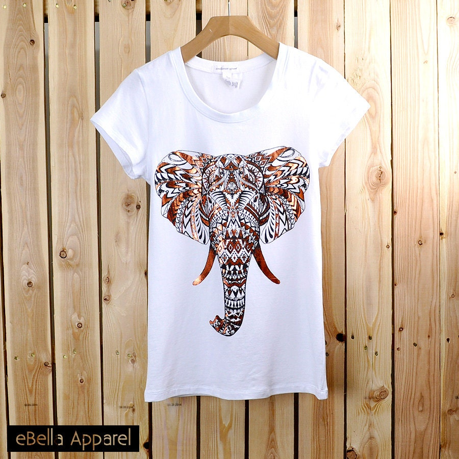 Unavailable listing on etsy for Elephant t shirt women s