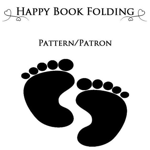 patron livre pli pieds tutorial gratuit par happybookfolding. Black Bedroom Furniture Sets. Home Design Ideas