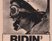 Ridin' High CALIFORNIA DOOM Art Print by Print Mafia®