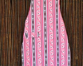 Child's Apron for Girl - Pink Pink Colors