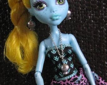 Been Fishing Mermaid Doll Jewelry Set fits Petite Slimline High Dolls