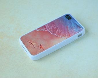 Custom Phone Case, Beach iPhone Case, Starfish Phone Case, Nautical iPhone Case, iPhone 5 Case, iPhone 6 Case, Summer Phone Case