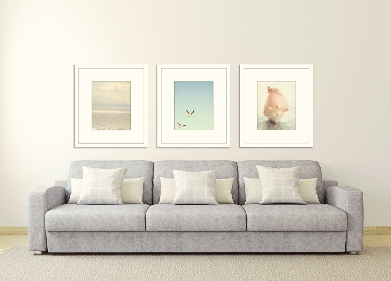 Coastal Wall Decor: Beach Prints Coastal Wall Art Ocean Decor Nautical Wall Decor