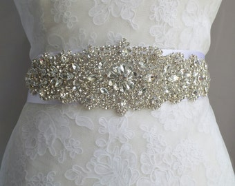 Bridal Sash, Bridal Belt, Sash, Wedding Belt, Belt, Crystal Sash, Rhinestone Belt, Wedding Belt Sash, Crystal Wedding Belt,