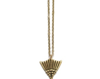 MARITIME SPIKE - Handmade Necklace in Brass or Sterling Silver
