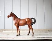 Vintage Cast Iron Horse // Hubley Doorstop