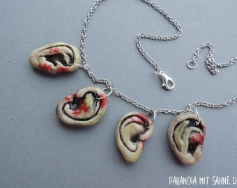 Daryl Dixon - Rotten Zombie Ears Necklace