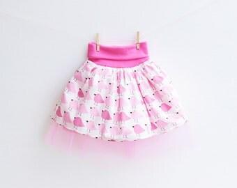 Girl Baby Girl Skirt sewing pattern Pdf, WOODLAND Tulle Skirt, baby girl toddler 6m 9m 12m 18m 1 2 3 4 5 6 7 8 9 10 years