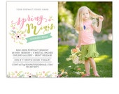 SALE Spring Mini Session Template, Mini Session Marketing, Photography Marketing Template, Photography Marketing Board, Marketing Card - AD1