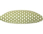 Grass Green Betwixt Schumacher Pillow Cover with Fabric on Both Sides