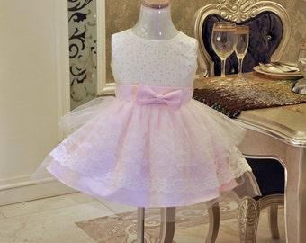 Baby Girl Dress for Wedding,Infant Pageant Dress,Toddler Girl Dress, XR0014