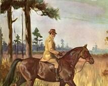 Tennessee Walking Horse Wesley Dennis Vintage Illustration 1950s
