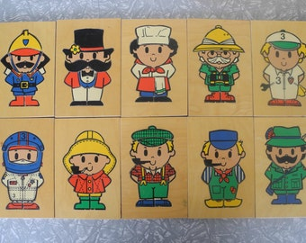Wooden Box Puzzle ROLF made in Holland 1960's
