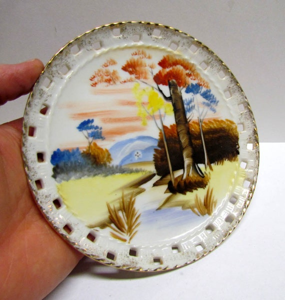 Items similar to vintage collectible ceramic painted for Can ceramic be painted