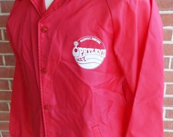 Vintage Long Sleeve Windbreaker by Rappers with the Opryland Logo