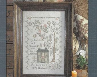 Blackbird Designs - My Valentine - Counted Cross Stitch - Pattern Leaflet