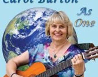 As One CD   Original Songs   12 uplifting songs   Joyful Songs   Spiritual Songs   Empowering Messages