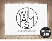 OOAK Logo Design, Custom Logo Design with Branding Package, Custom Business Logo, Corporate Logo, Interior Design Logo, Monogram Logo