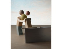 Embrace. Color Photograph Table Top Still Life Diorama Abstract Miniature Figures