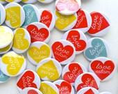 5 Love Islam Buttons