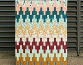 Aztec Chevron Quilt - Modern Quilt Pattern - INSTANT DOWNLOAD PDF file