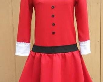 """Willy Wonka's Varuka Salt dress """"I want it NOW daddy!!!"""""""