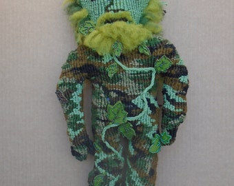 Greenman Doll