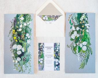 Garden Garlands Save the Date