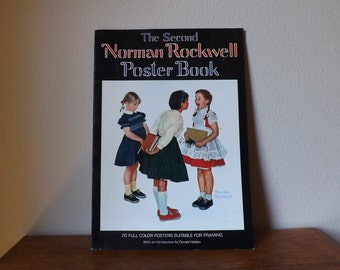 Norman Rockwell ~ Poster Book ~ The Second Norman Rockwell Poster book ~ 20 Poster Illustrations for Framing