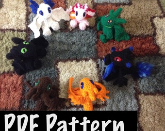 Dragon Hatchling Crochet Pattern