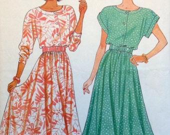 Butterick 5586 UNCUT Misses Dress