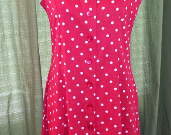 Vintage Pin-up Polka Dot Sun Dress